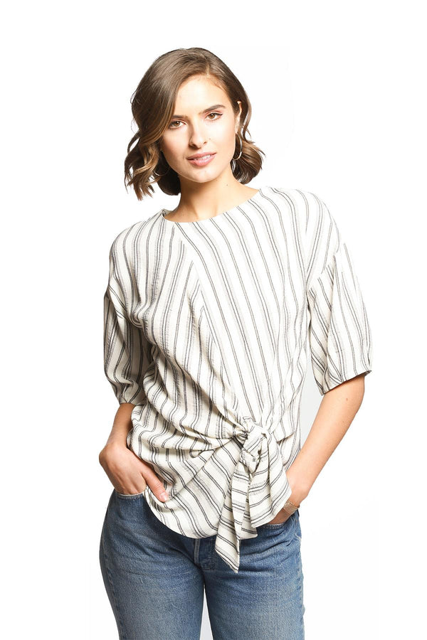 Yang Top - Capri Stripe - Eva Franco