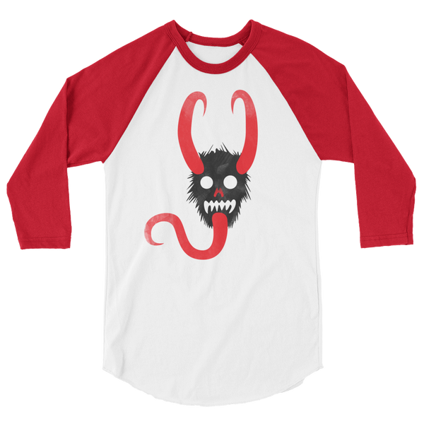 Krampus 3/4 baseball tee