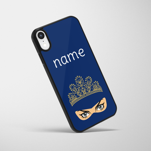 Personalised Angry Queen iPhone Case