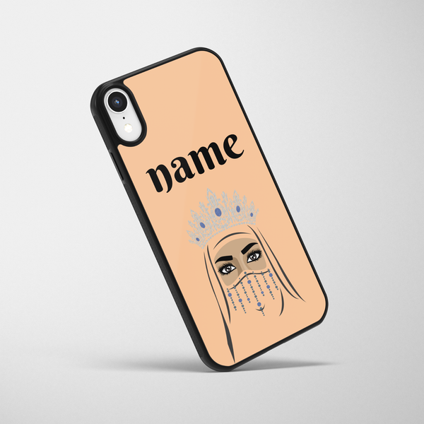 Personalised Desert Queen iPhone Case