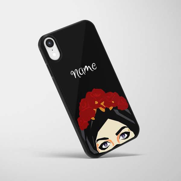 Personalised Piercing Eyes iPhone Case