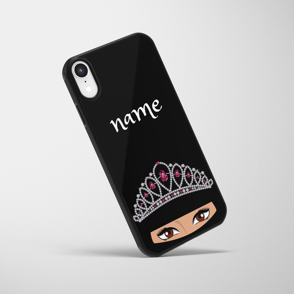 Personalised Ruby Queen iPhone Case