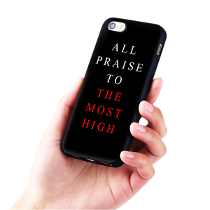 all praise to the most high iphone case