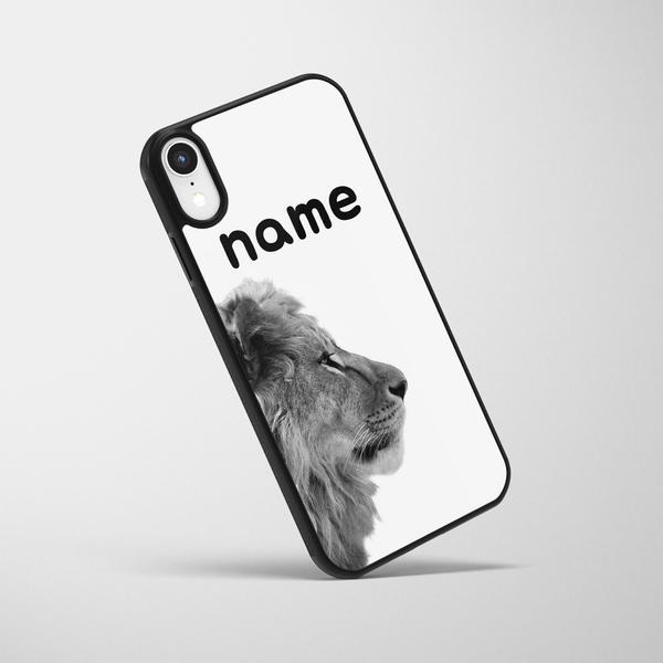 Personalised Lion iPhone Case