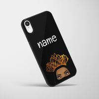 Personalised Niqabi Queen iPhone Case