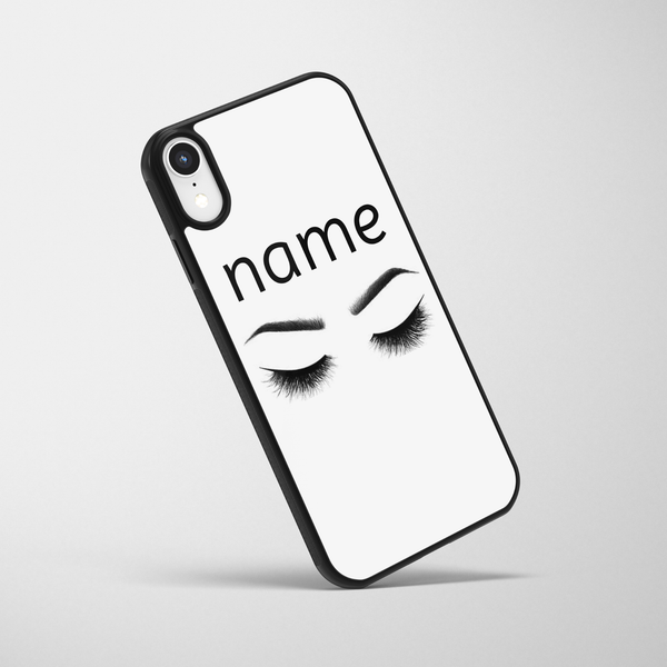 Personalised Sassy Eyes iPhone Case