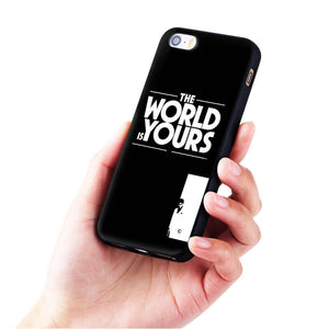'the world is yours' scarface iphone case
