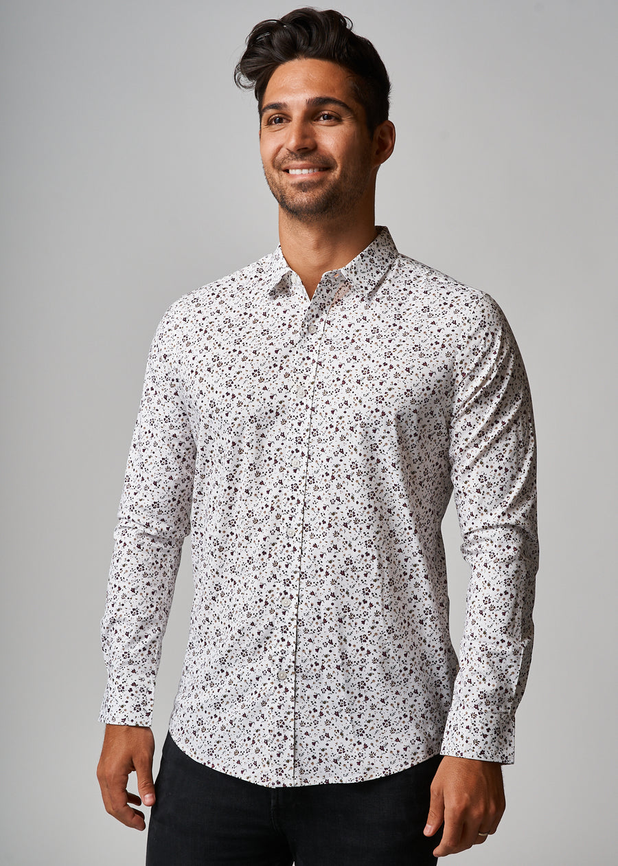 Ryan Rust Floral Shirt