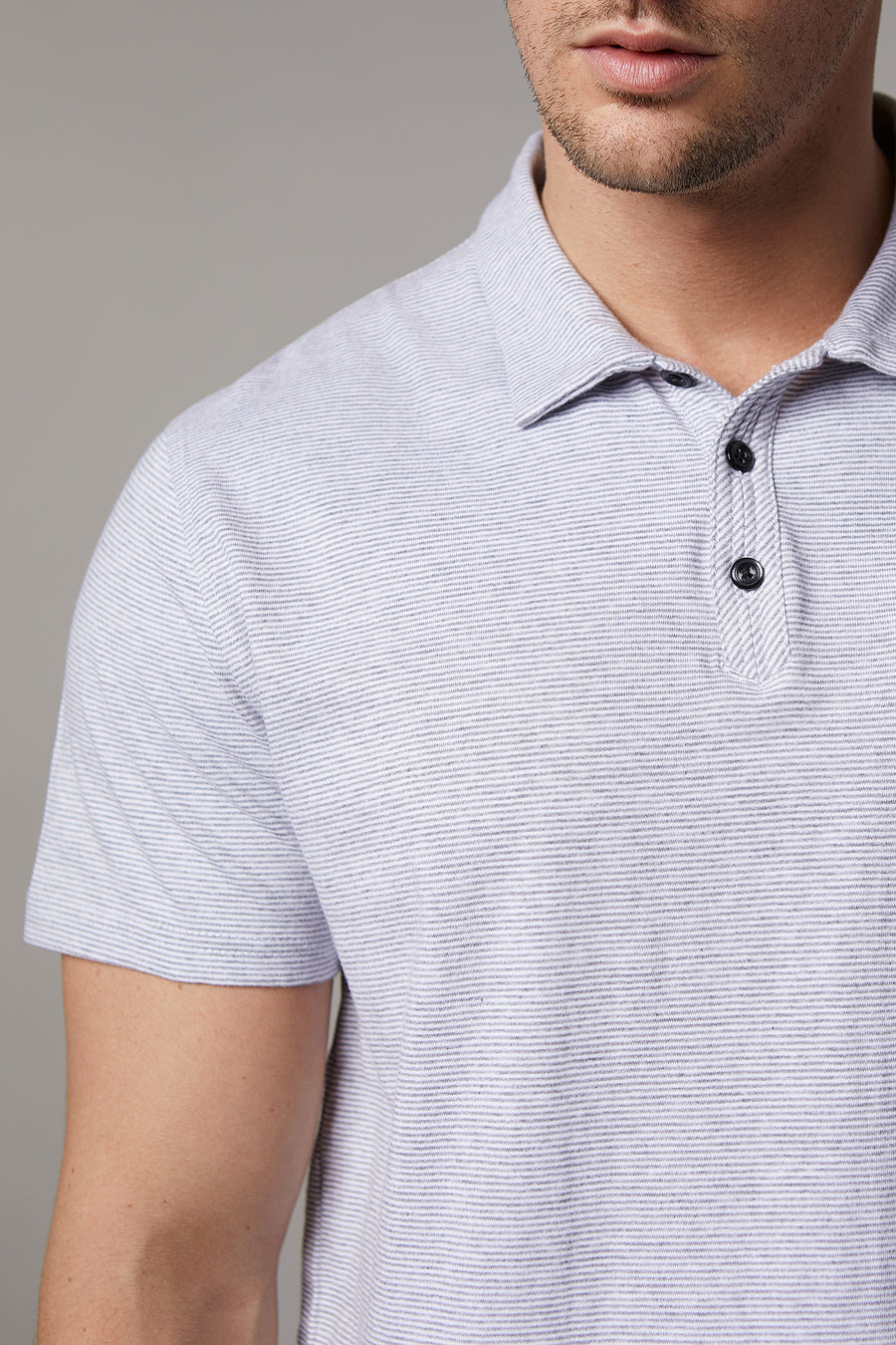 Jordan Short Sleeve Grey Polo