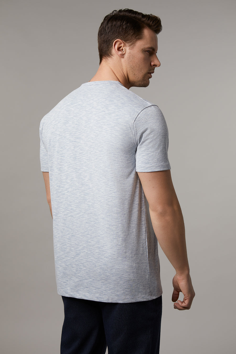 Brody Henley with Button Closure