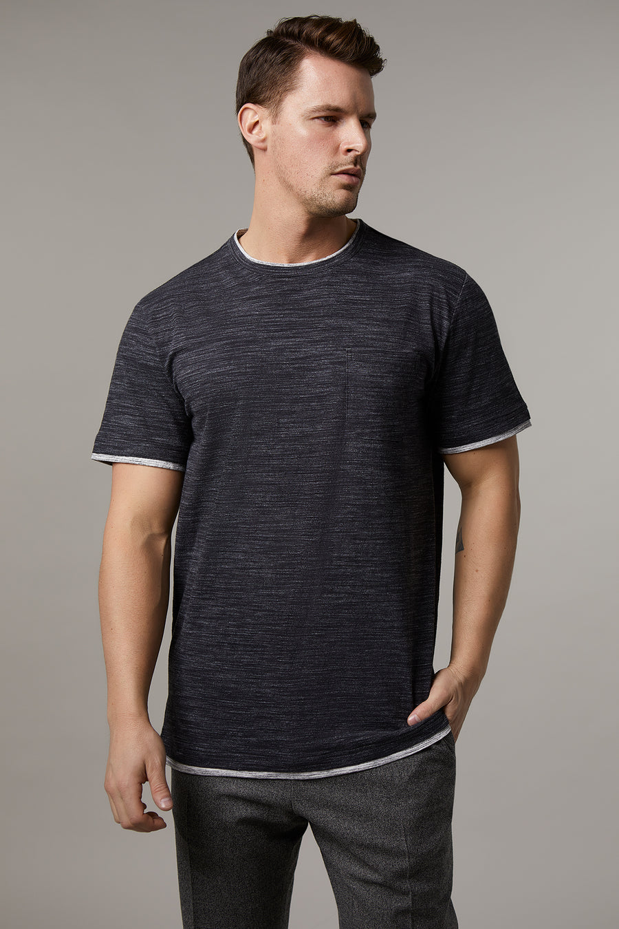 James Short Sleeve Fooler with Pocket