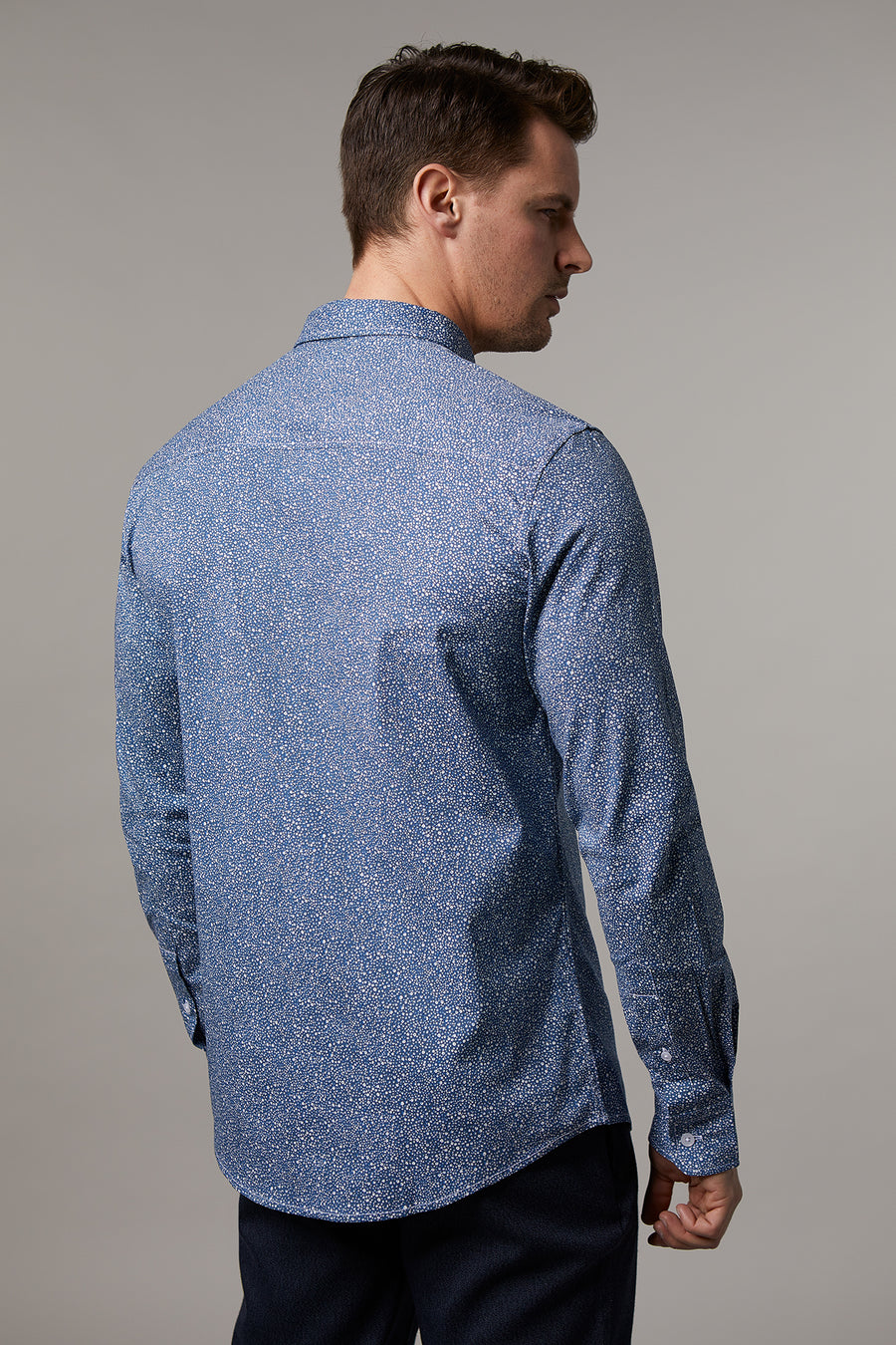 Ryan Abstract Navy Shirt