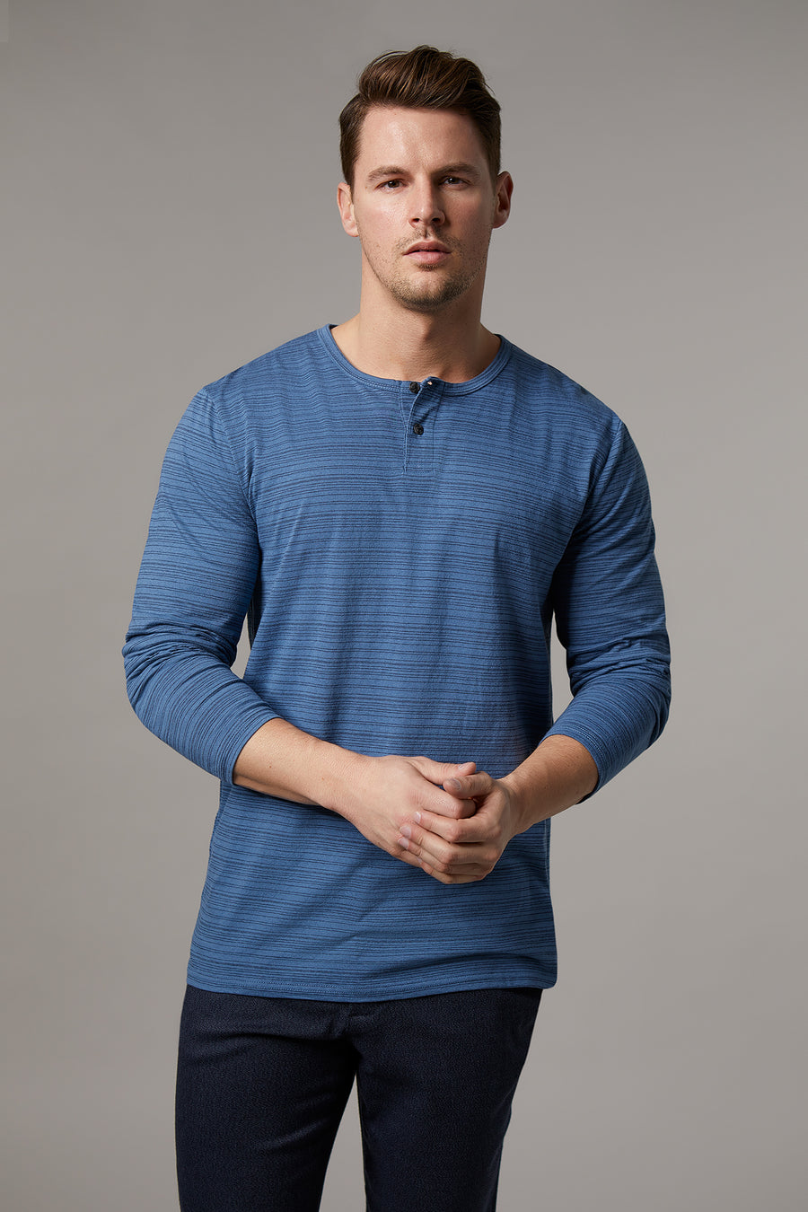 Patrick Denim Long Sleeve T-Shirt