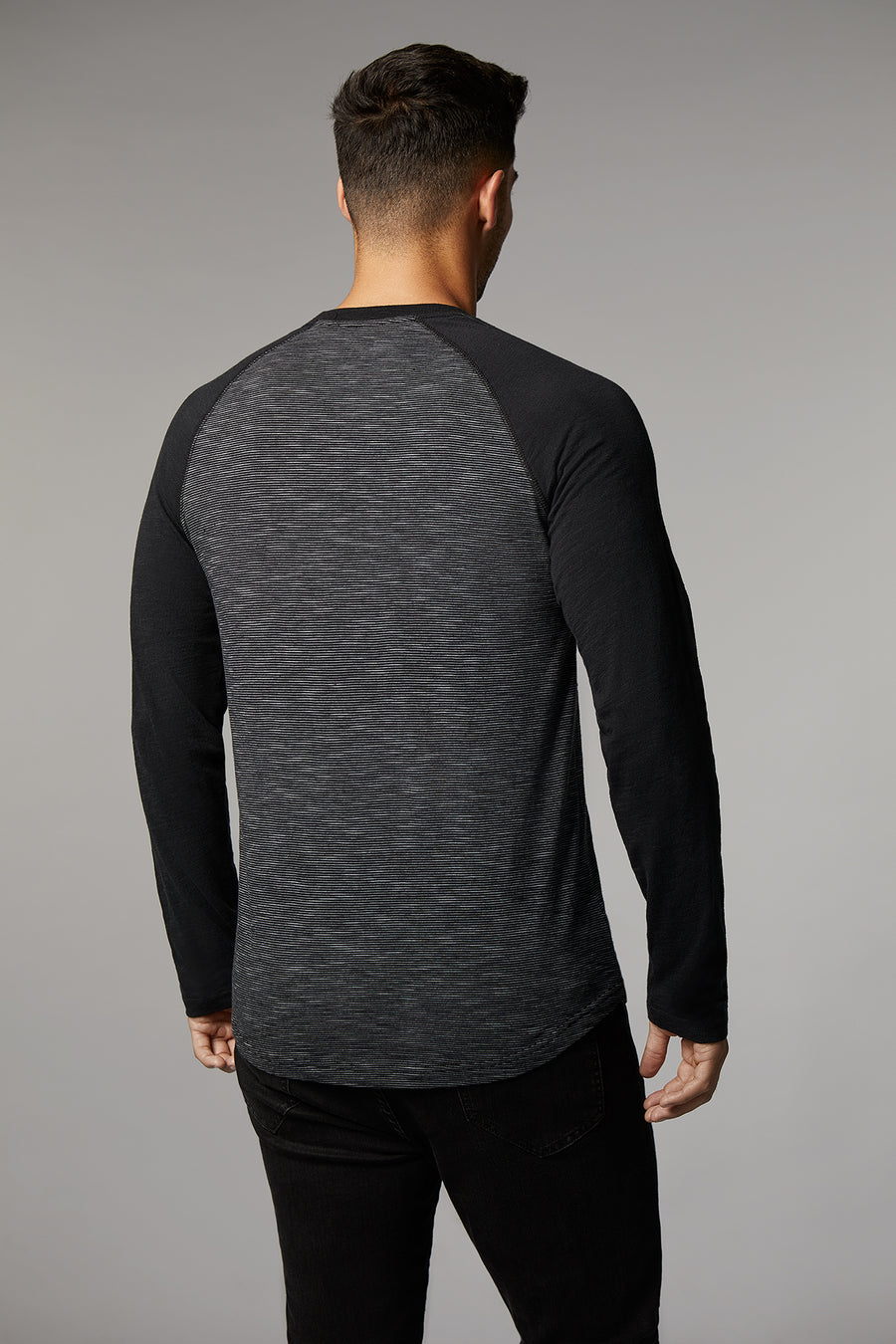 Julian Long Sleeve Crewneck Raglan