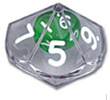 Double Dice (10-Sided)