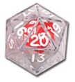 Double Dice (20-Sided)