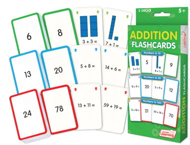 Addition Flash Cards (3 Sets)