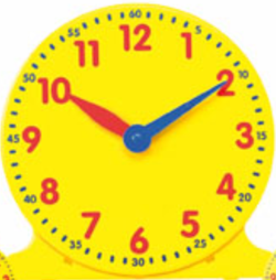 12-Hour Time Clock