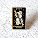 The Lovers - Enamel Pin (Major Arcana) - Atelier Perséphone : bijoux, accessoires et papeterie