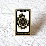 The Wheel of Fortune - Enamel Pin (Major Arcana) - Atelier Perséphone : bijoux, accessoires et papeterie