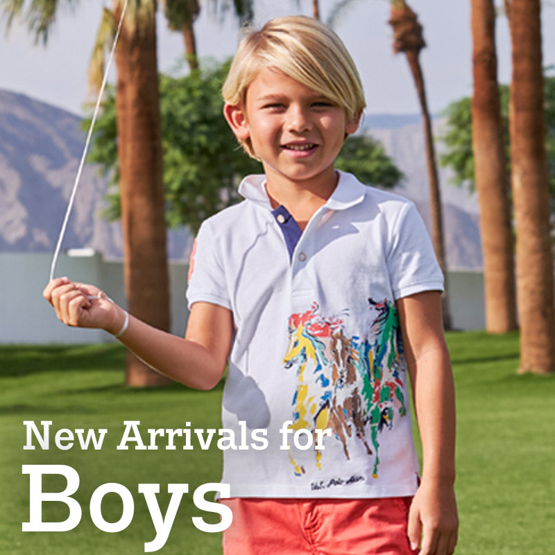 New Arrivals for Boys