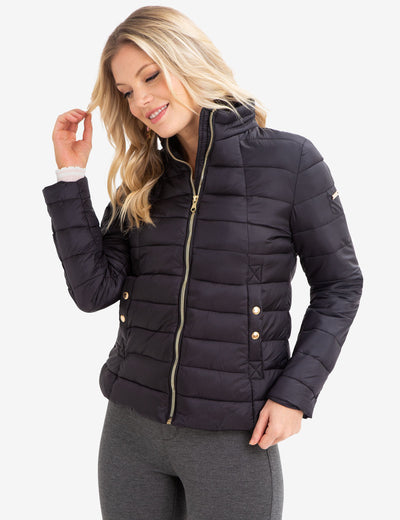 STAND COLLAR PUFFER COAT - U.S. Polo Assn.