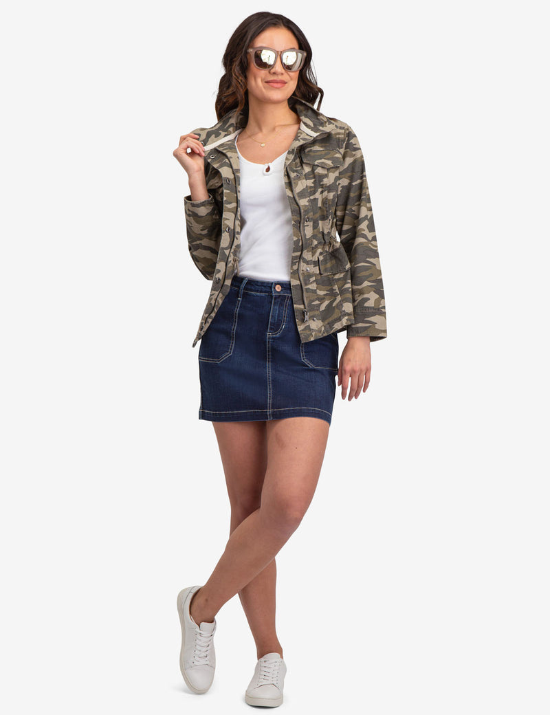 CAMO SAFARI JACKET