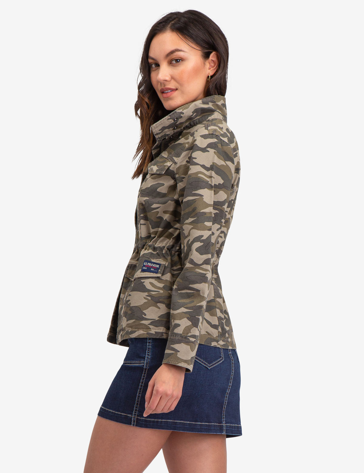 CAMO SAFARI JACKET - U.S. Polo Assn.