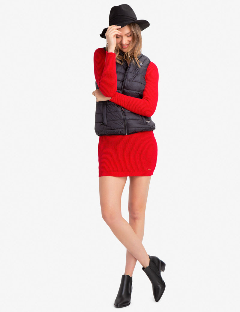 MULTI QUILTED VEST