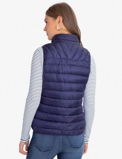 MULTI QUILTED VEST - U.S. Polo Assn.