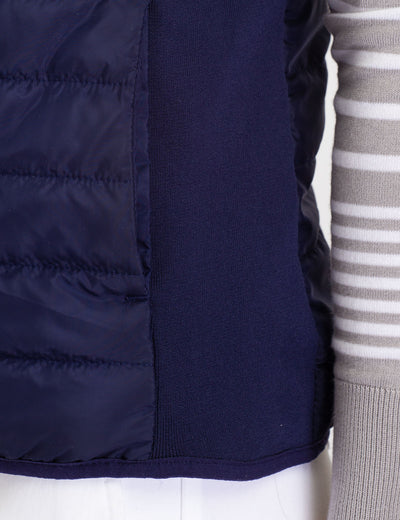 SIDE KNIT PUFFER VEST - U.S. Polo Assn.