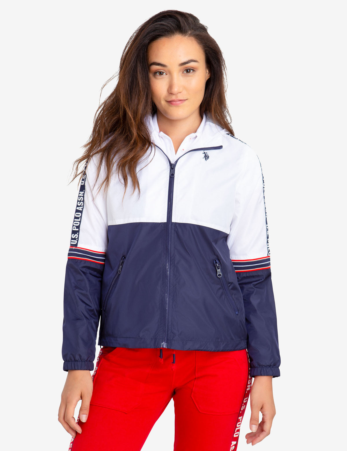 WINDBREAKER WITH TAPING