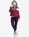 TRI-COLOR PUFFER COAT - U.S. Polo Assn.