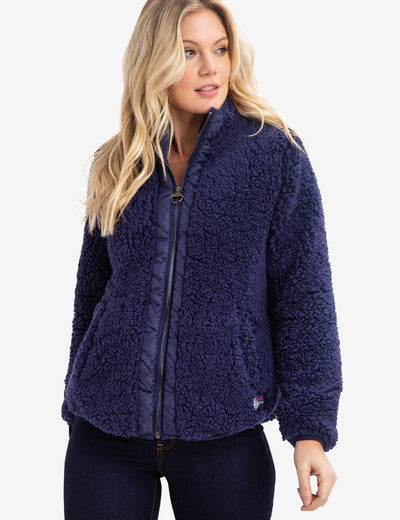 FLEECE ZIP UP JACKET - U.S. Polo Assn.