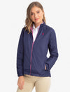 WINDBREAKER WITH STAND COLLAR - U.S. Polo Assn.