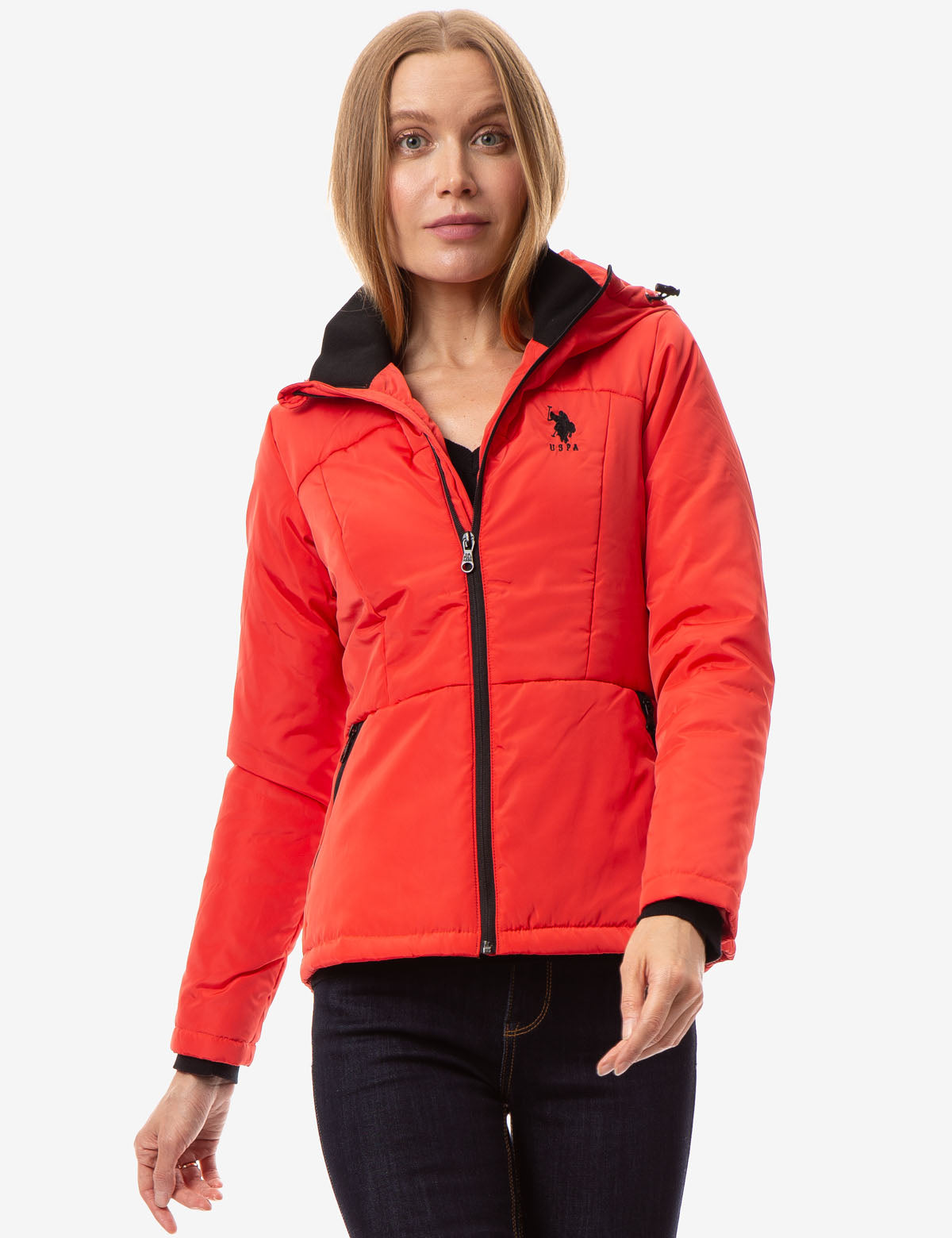 SOLID FLEECE JACKET - U.S. Polo Assn.