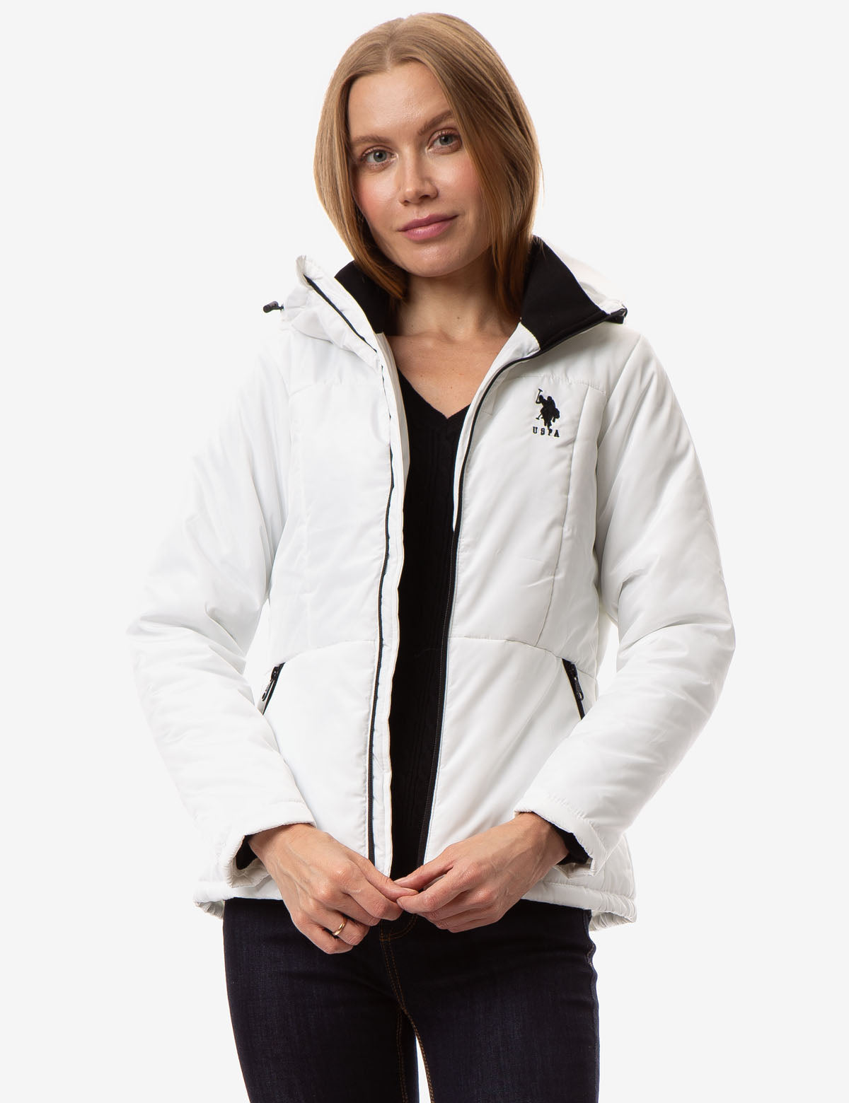 SOLID ZIP JACKET - U.S. Polo Assn.