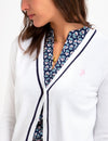 TIPPED CARDIGAN - U.S. Polo Assn.