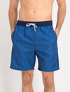 CONTRAST WAIST SWIM TRUNKS