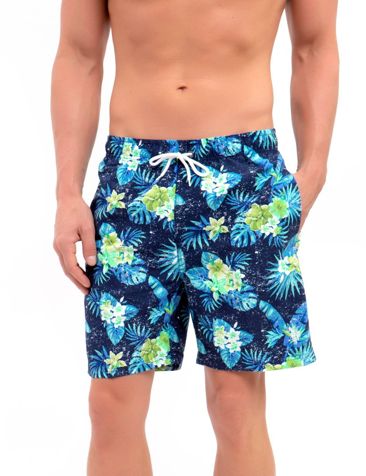 259390978f TROPICAL SWIM TRUNKS - U.S. Polo Assn.