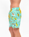 HAWAII MAP SWIM TRUNKS