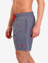 MINI GEOMETRIC PATTERN SWIM TRUNKS - U.S. Polo Assn.