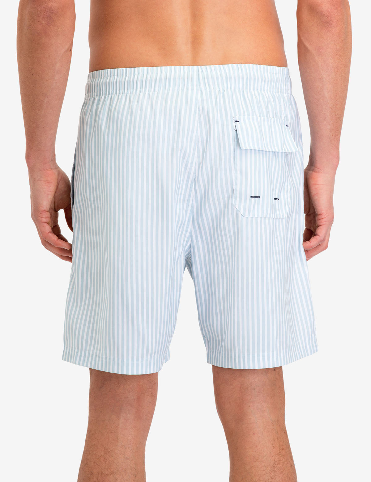 VERTICAL STRIPE SWIM TRUNKS - U.S. Polo Assn.