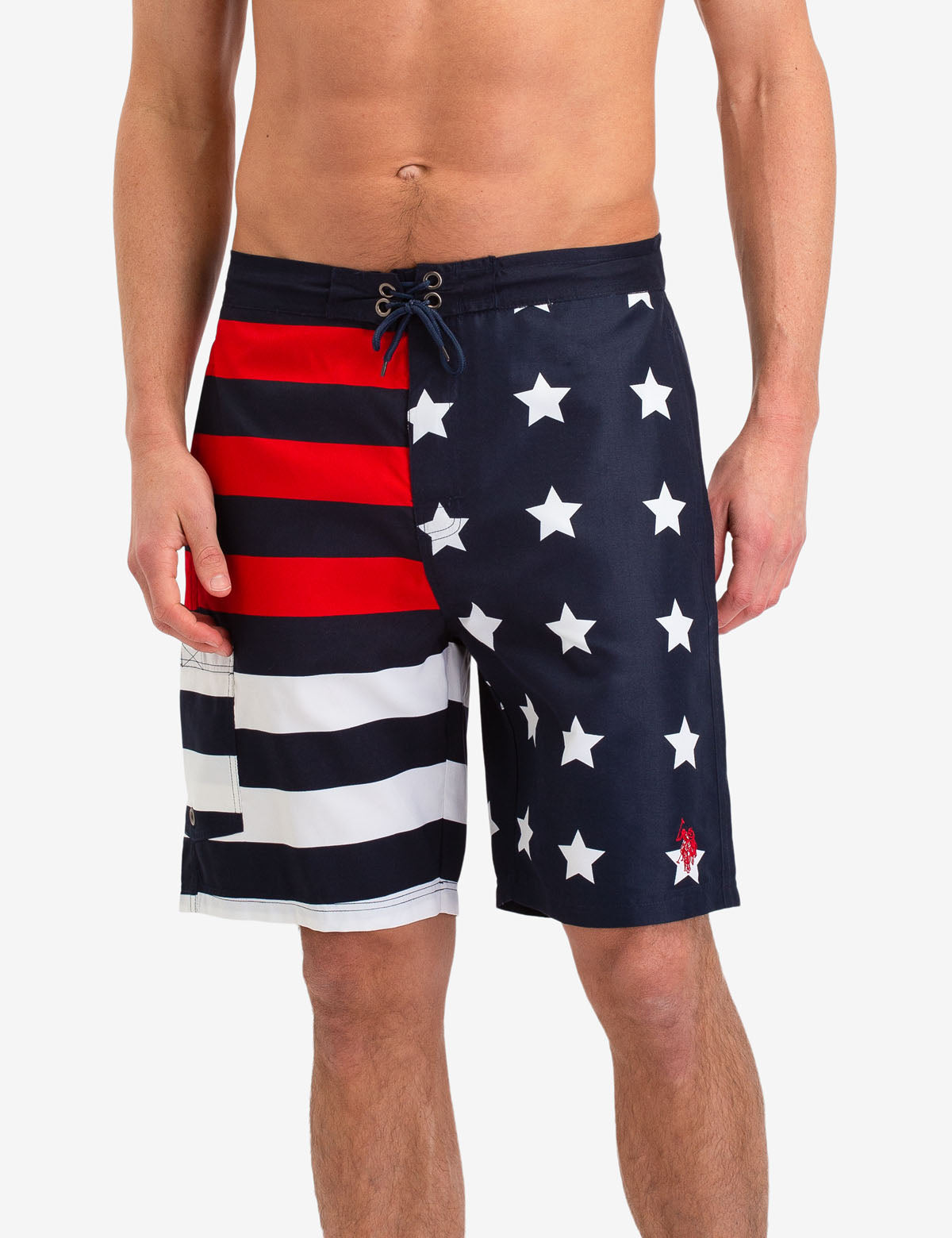 USA FLAG SWIM TRUNKS - U.S. Polo Assn.