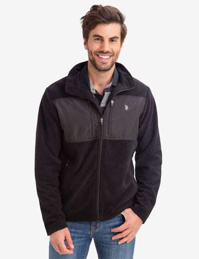 FLEECE JACKET - U.S. Polo Assn.