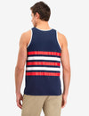 STRIPED STAR POCKET TANK - U.S. Polo Assn.