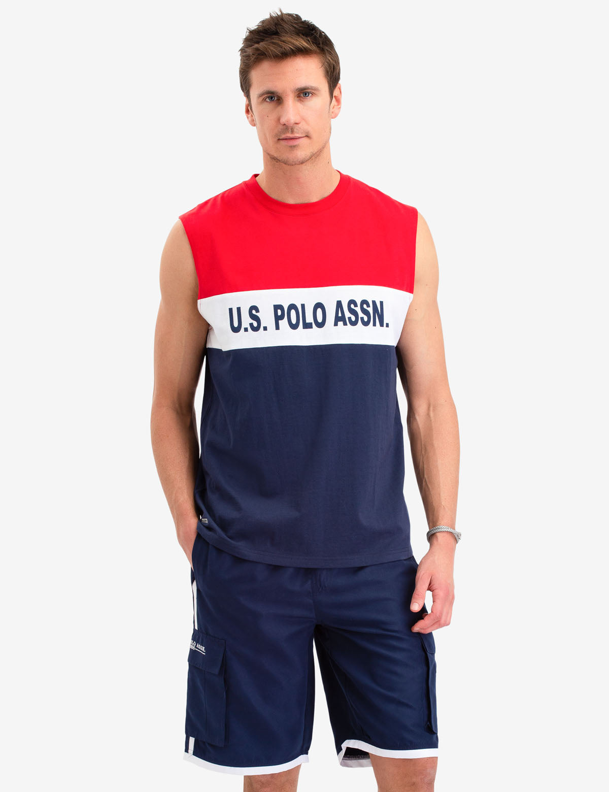 CHEST LOGO TANK - U.S. Polo Assn.