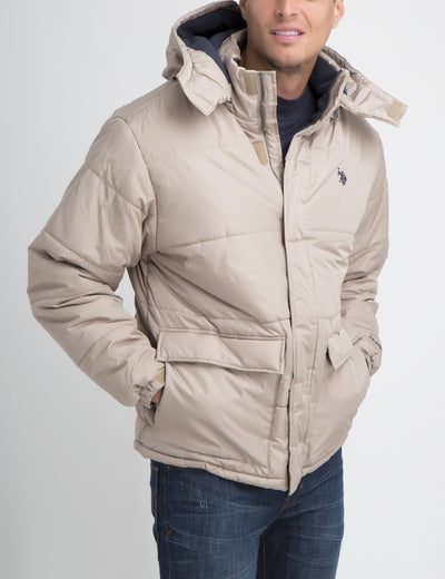 Essential Classic Short Bubble Jacket - U.S. Polo Assn.