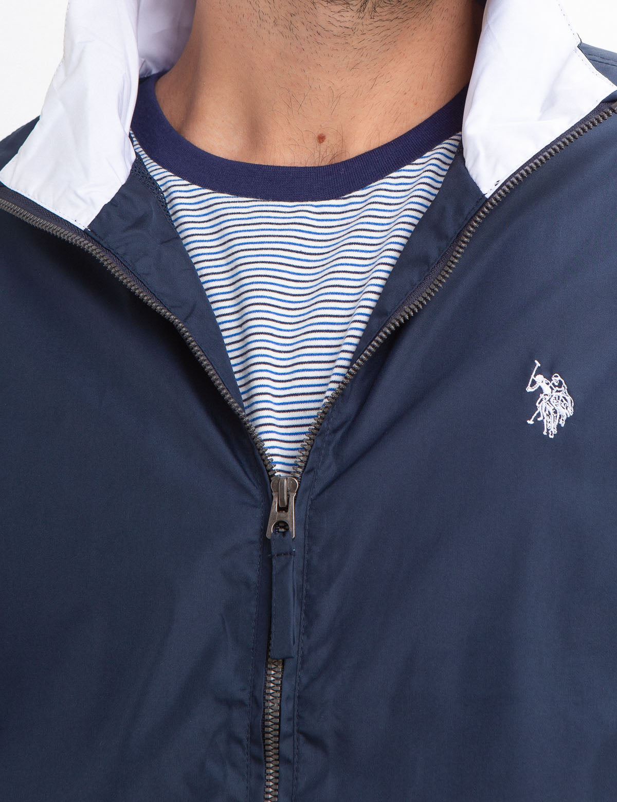 MESH LINED WINDBREAKER - U.S. Polo Assn.
