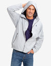 HOODED MESH-LINED WINDBREAKER - U.S. Polo Assn.